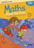 Xavier Amouyal et Jacques Brun - Mathématiques CE2 Cycle 2 Maths tout terrain - Fichier de l'élève.