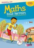 Xavier Amouyal et Jacques Brun - Mathématiques CM1 Cycle 3 Maths tout terrain - Manuel de l'élève et cahier d'exercices.