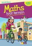 Xavier Amouyal et Jacques Brun - Mathématiques CM2 Cycle 3 Maths tout terrain - Manuel et cahier de l'élève.
