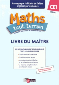 Xavier Amouyal - Maths tout terrain CE1 - Livre du maître.