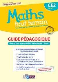 Xavier Amouyal et Jacques Brun - Maths tout terrain CE2 - Guide pédagogique.