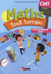 Xavier Amouyal et Jacques Brun - Maths tout terrain CM1 - Programmes 2008.
