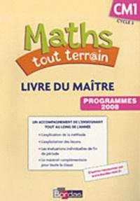 Xavier Amouyal et Alfred Errera - Maths tout terrain CM1 - Livre du maître, programmes 2008.