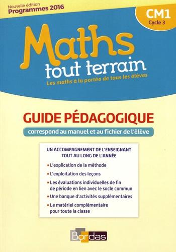 Xavier Amouyal et Jacques Brun - Maths tout terrain CM1 - Guide pédagogique.