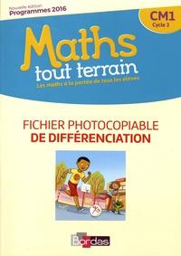 Xavier Amouyal et Jacques Brun - Maths tout terrain CM1 - Fichier photocopiable de différenciation.