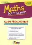 Xavier Amouyal et Jacques Brun - Maths tout terrain CM2 cycle 3 - Guide pédagogique.