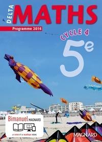 Xavier Andrieu et Julie Bonnet - DeltaMaths 5e Cycle 4.