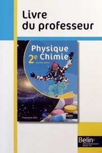 Xavier Bataille et Jean-Marie Parisi - Physique Chimie 2e - Livre du professeur.