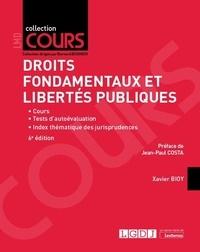 Xavier Bioy - Droits fondamentaux et libertés publiques.
