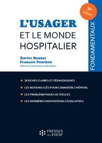Feriasdhiver.fr L'usager et le monde hospitalier - 50 fiches pour comprendre Image