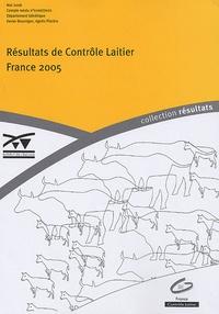 Xavier Bourrigan et Agnès Piacère - Résultats du Contrôle Laitier - France 2005.