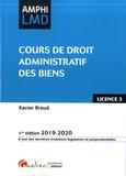 Xavier Braud - Cours de droit administratif des biens Licence 3.