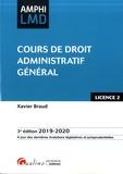 Xavier Braud - Cours de droit administratif général.