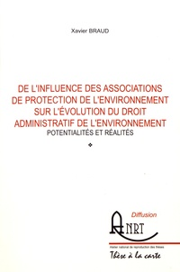 Possibilités et réalités de linfluence des associations de protection de lenvironnement sur lévolution du droit administratif de lenvironnement - Potentialités et réalités.pdf