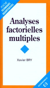 Xavier Bry - Analyses factorielles multiples.