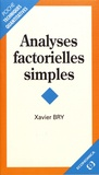Xavier Bry - Analyses factorielles simples.