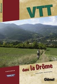 Xavier Buffet et Benoît Gardey - VTT dans la Drôme.