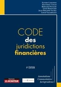 Code des juridictions financières - Xavier Cabannes |