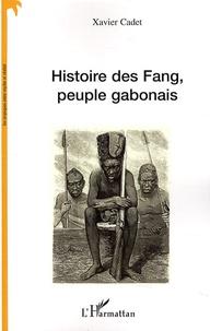 Xavier Cadet - Histoire des Fang, peuple gabonais.