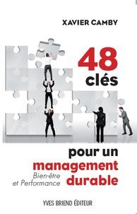 Xavier Camby - 48 clés pour un management durable.