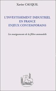 Openwetlab.it L'Investissement industriel en France enjeux contemporains - Les enseignements de la filière automobile Image