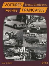 Xavier Chauvin - Voitures françaises - 1950-1955.