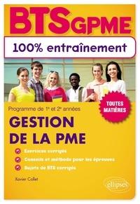 Xavier Collet - BTS Gestion de la PME.