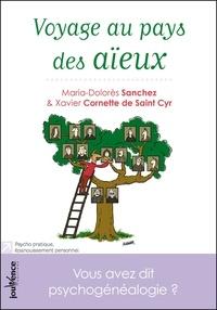Xavier Cornette de Saint Cyr et Maria-Dolorès Sanchez - Voyage au pays des aïeux.