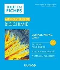 Xavier Coumoul et Frédéric Dardel - Mémo visuel de biochimie - 2e éd. - Licence / Prépas / Capes.