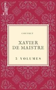 Xavier De Maistre - Coffret Xavier de Maistre - 5 textes issus des collections de la BnF.