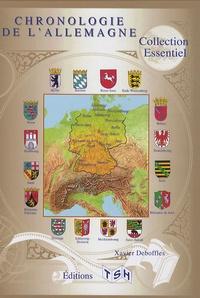 Xavier Deboffles - Chronologie de l'Allemagne.