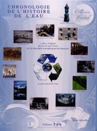 Xavier Deboffles - Chronologie de l'histoire de l'eau.