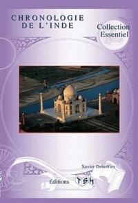 Xavier Deboffles - Chronologie de l'Inde.