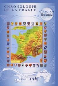 Télécharger des livres en pdf gratuitement Chronologie de la France 9782359720006  in French par Xavier Deboffles