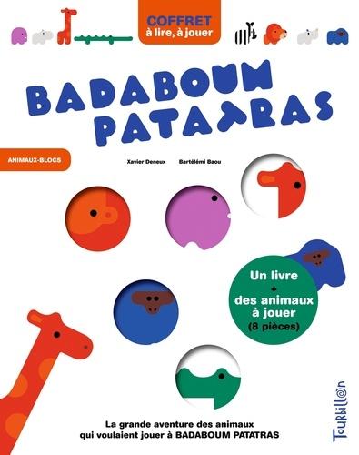 Badaboum Patatras Avec Un Livre Et Des Animaux A Jouer 8 Pieces Grand Format