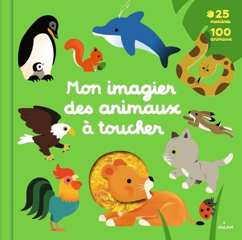 Mon imagier des animaux à toucher