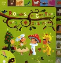 Xavier Deneux et Emilie Chollat - Rondes et comptines des 4 saisons. 1 CD audio