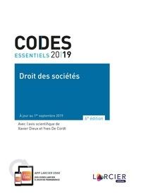 Xavier Dieux et Yves De Cordt - Droit des sociétés.