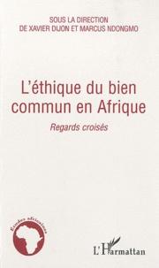Alixetmika.fr L'éthique du bien commun en Afrique - Regards croisés Image