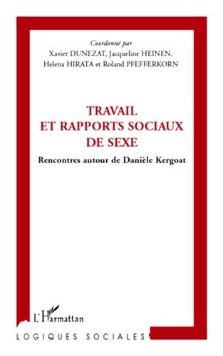 Travail et rapports sociaux de sexe. Rencontres autour de Danièle Kergoat