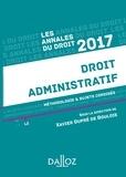 Xavier Dupré de Boulois - Annales Droit administratif 2017 - Méthodologie & sujets corrigés.