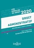 Xavier Dupré de Boulois - Annales Droit administratif 2020 - Méthodologie & sujets corrigés.
