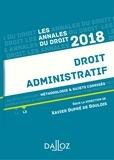 Xavier Dupré de Boulois - Droit administratif 2018. Méthodologie & sujets corrigés.