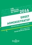Xavier Dupré de Boulois - Droit administratif - Méthodologie et sujets corrigés.