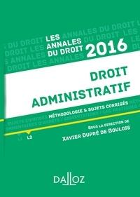 Droit administratif - Méthodologie et sujets corrigés.pdf