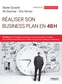 Réaliser son business plan en 48 heures - Xavier Durand |