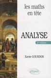 Xavier Gourdon - Analyse - Mathématiques pour MP*.