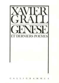 Xavier Grall - Genèse et derniers poèmes.