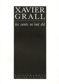 Xavier Grall - Les vents m'ont dit....