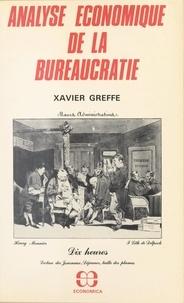 Xavier Greffe - Analyse économique de la bureaucratie.